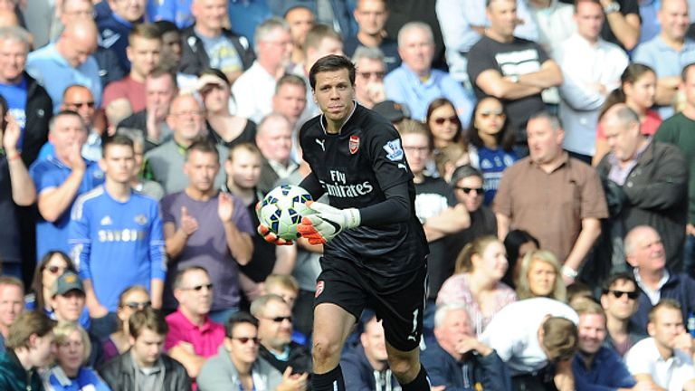 Szczesny made 181 appearances for Arsenal
