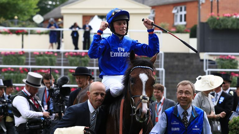 Jockey Kieran Shoemark - facing lengthy suspension