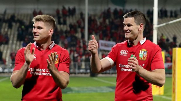 Farrell and Sexton forged an effective partnership during last year's drawn Lions series in New Zealand