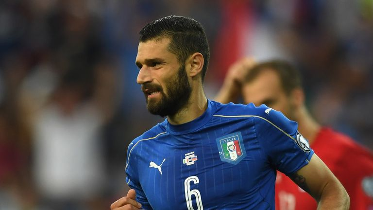 Antonio Candreva decided to stay with Inter during the summer