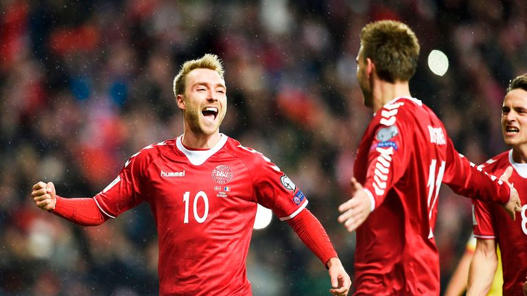 Image result for christian eriksen denmark