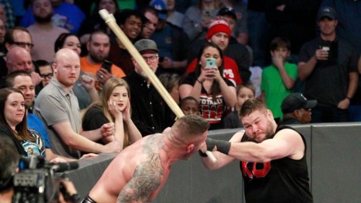 Randy Orton came out on the losing side against Kevin Owens
