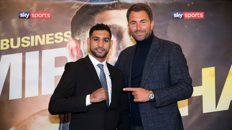 Amir Khan and Kell Brook are now both Matchroom boxers
