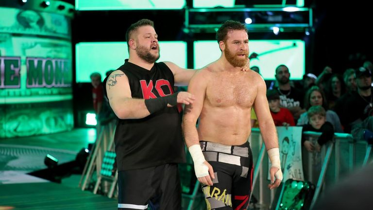 Image result for Shinsuke kevin and sami zayn