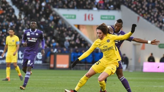 Adrien Rabiot has challenged his team-mates to knock out Real Madrid