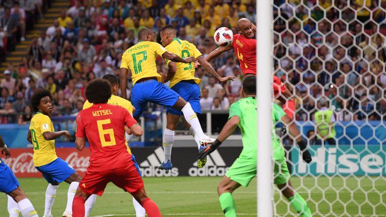Fernandinho heads Eden Hazard's corner into his own net
