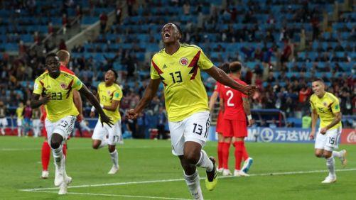 Йери Мина вкара на Англия на Мондиал 2018