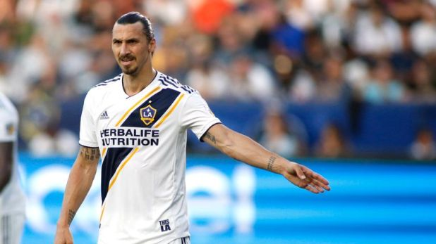 Zlatan Ibrahimovic's 500th career goal could not prevent Toronto FC from winning 5-3 against LA Galaxy