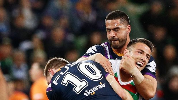 Sam Burgess admits he needs to be better with the ball