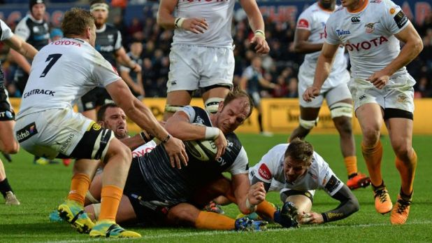 Ospreys are currently fifth in the PRO14 Conference A