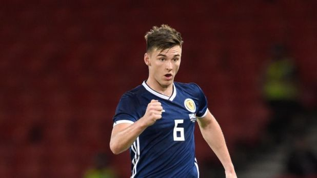 Kieran Tierney has played 22 matches this season