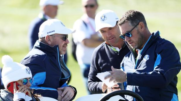 Westwood and Harrington both assisted Bjorn in Paris