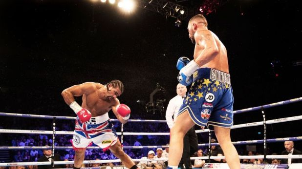Bellew completed another stunning win over Haye at The O2 in May