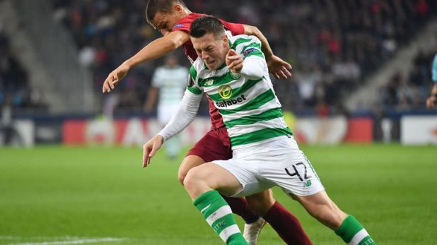 Celtic midfielder Callum McGregor believes RB Leipzig will provide a tough test for the Scottish champions