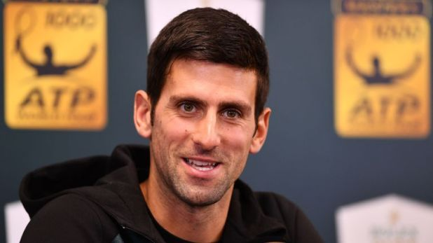 Novak Djokovic is in London to compete in the ATP World Tour Finals