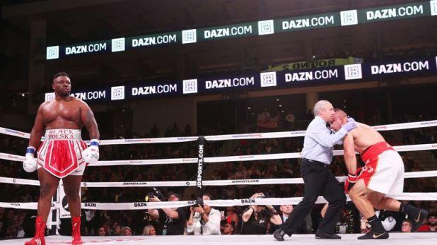'Big Baby' blasted aside Tomasz Adamek at the Wintrust Arena