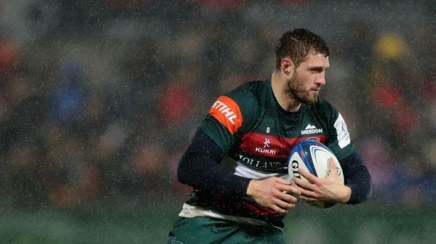 Leicester's Jonah Holmes earned inclusion into his first ever Wales squad on Tuesday
