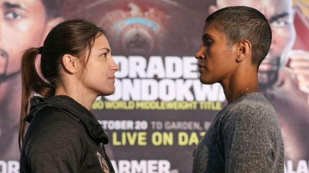 Taylor and Serrano come face-to-face