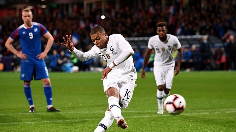 Mbappe's 90th-minute penalty rescued a draw for France