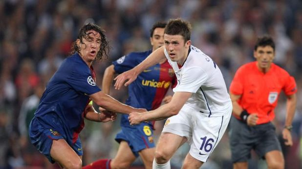 Carrick says he suffered depression after Manchester Untied's 2-0 defeat to Barcelona in the 2009 Champions League final