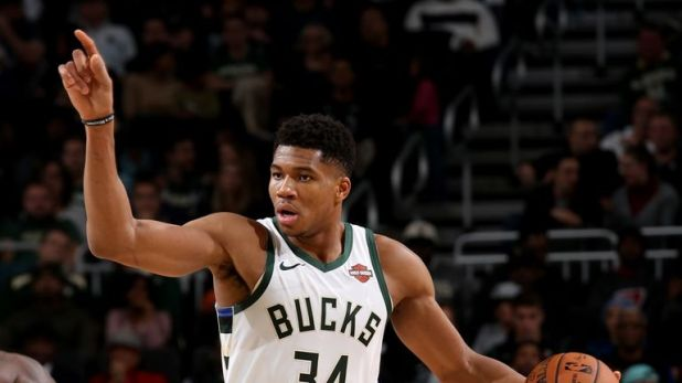Giannis Antetokounmpo is a star for the Bucks