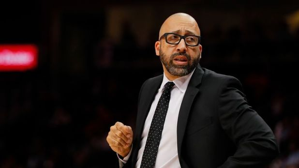 New York Knicks coach David Fizdale