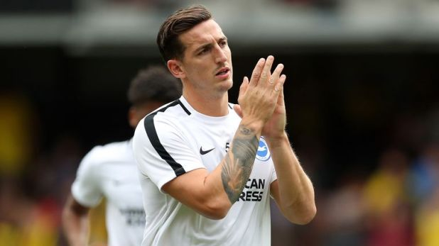Brighton's Lewis Dunk is hoping to earn his first England cap