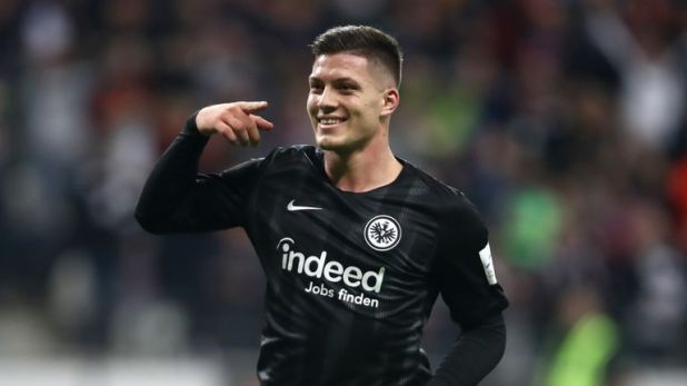 Jovic is the Bundesliga's top scorer