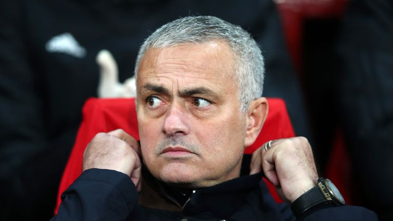 Jose Mourinho's Manchester United drew with Southampton on Saturday