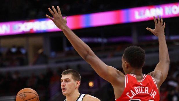 Nikola Jokic is dishing it out for Denver