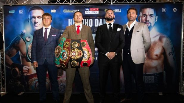 Bellew battles Usyk for all the world cruiserweight titles, live on Sky Sports Box Office