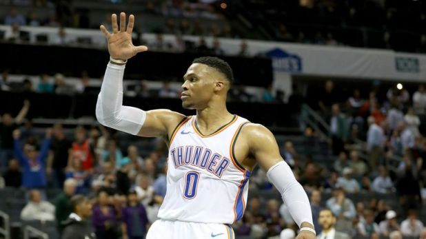 Russell Westbrook averages 28 points in his last three games