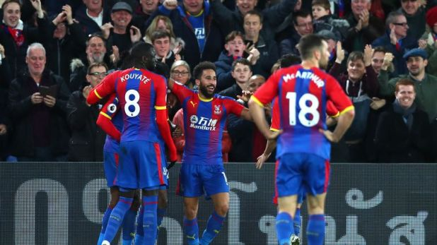 Andros Townsend's goal sealed Crystal Palace's win over Burnley