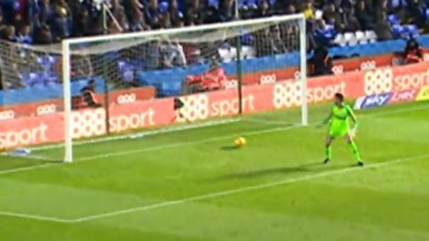 Scroll down to watch all three goalkeeper howlers