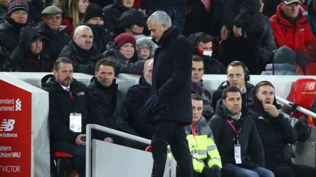 Jose Mourinho took charge of his final game against Liverpool