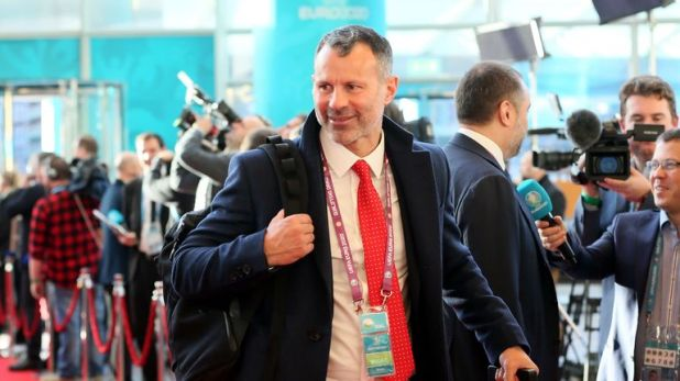 Ryan Giggs was at the Euro 2020 draw qualifying last weekend