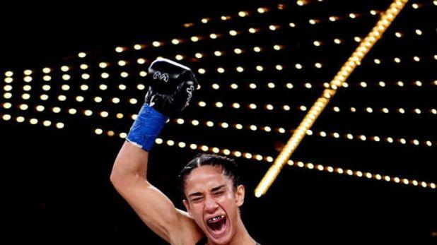 Amanda Serrano won her seventh world title at Madison Square Garden
