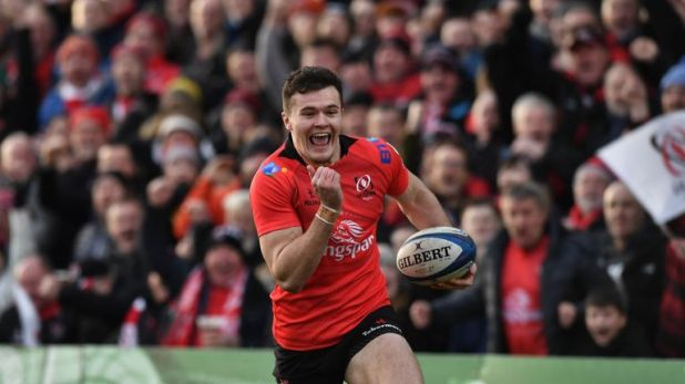 Jacob Stockdale's second effort against Racing was a phenomenal try