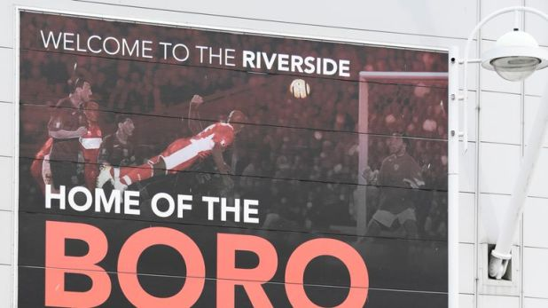 Trouble marred Middlesbrough's home game against Millwall last season