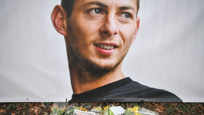 An image of Sala has been displayed at Nantes FC