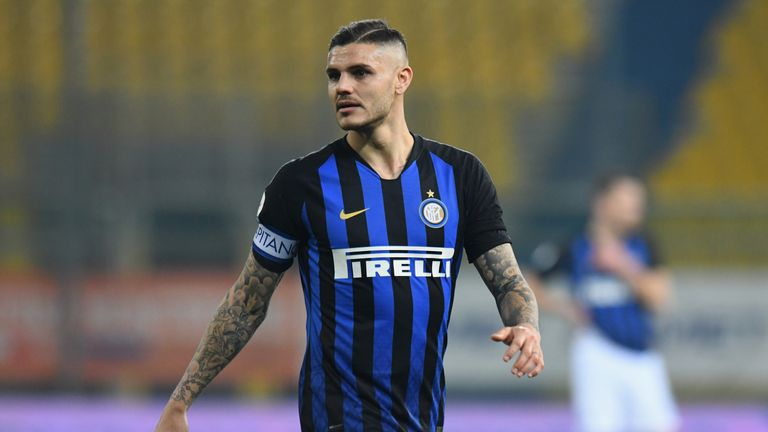 Mauro Icardi is a reported target for Real