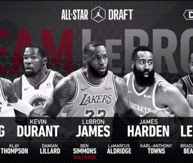 Team Lebron Takes On Team Giannis In The  All Star Game In