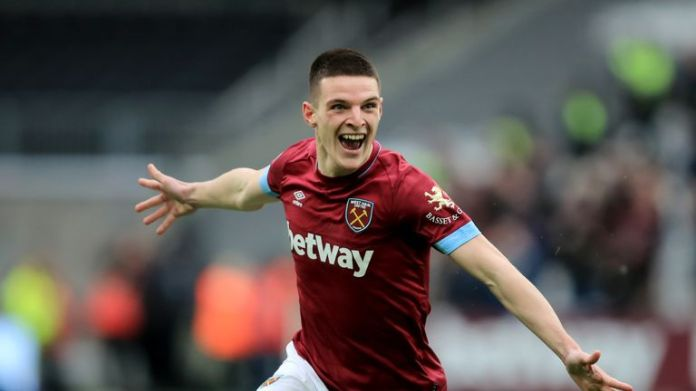 Manuel Pellegrini says it is not an option for Declan Rice to be hired