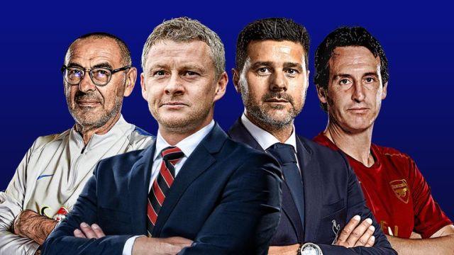 Image result for premier league top four