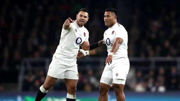 Ben Te'o is being kept out of the England team by Manu Tuilagi at present