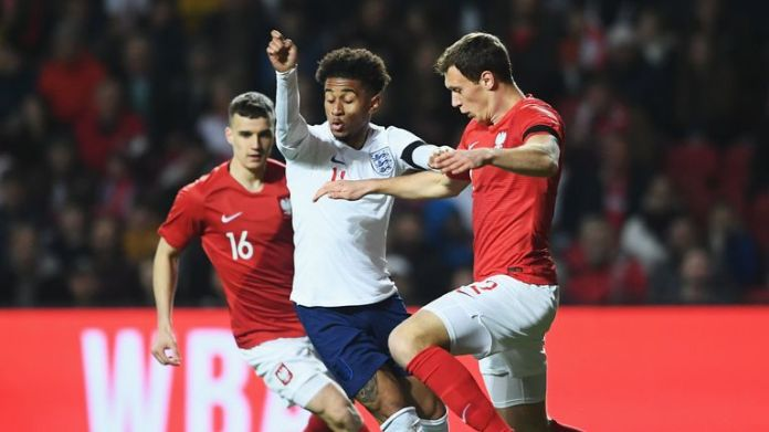 Reiss Nelson impressed on the left for England