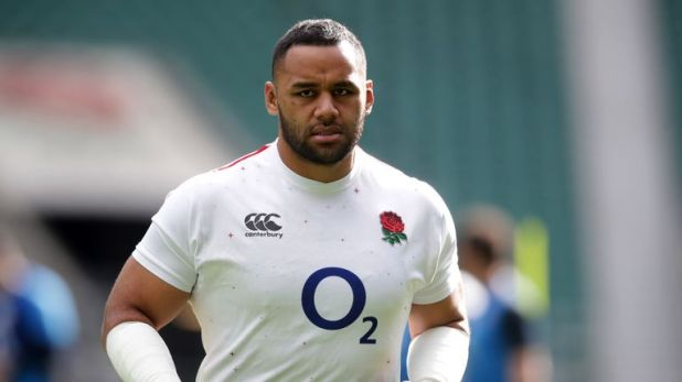 England No 8 Billy Vunipola