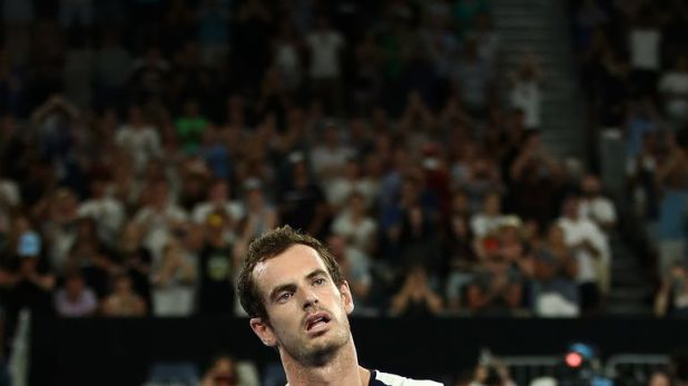 Andy Murray's last appearance came at the Australian Open