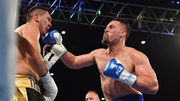 Joseph Parker returned to winning ways by stopping Alexander Flores in December