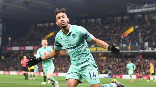 Pierre-Emerick Aubameyang missed the defeat at Wolves with a sinus problem